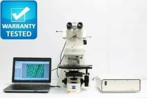 Zeiss Axioplan 2ie Fluorescence Phase Contrast Microscope
