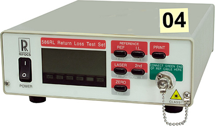 Rifocs 586L Test and Electronics Return Loss Test. User friendly
