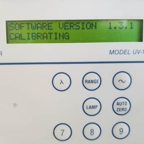 Rainin Dynamax UV-1 Absorbance Detector UV 1 Version 1.3.1