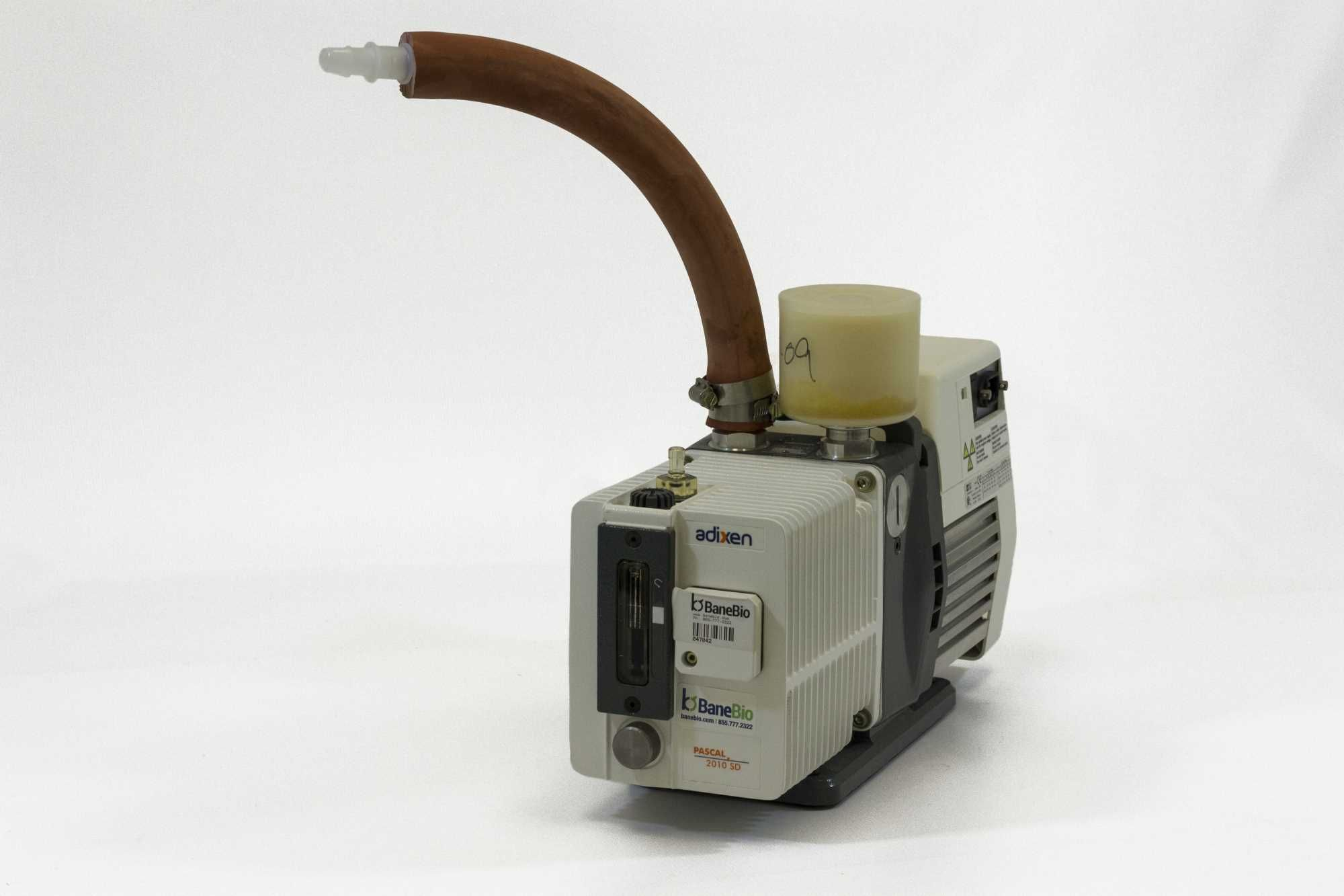 Adixen Dual Stage Rotary Vane Vacuum Pump Pascal 2010SD