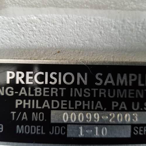 THWING-ALBERT JDC PRECISION SAMPLE CUTTER  1-10