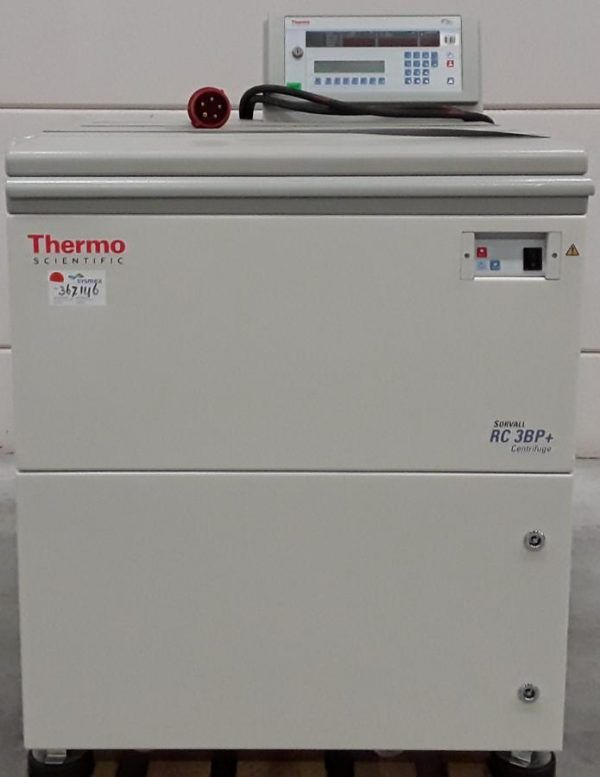 Thermo Sorvall RC 3BP Plus Low-Speed Centrifuge 5000 RPM 6 Liter spin capacity