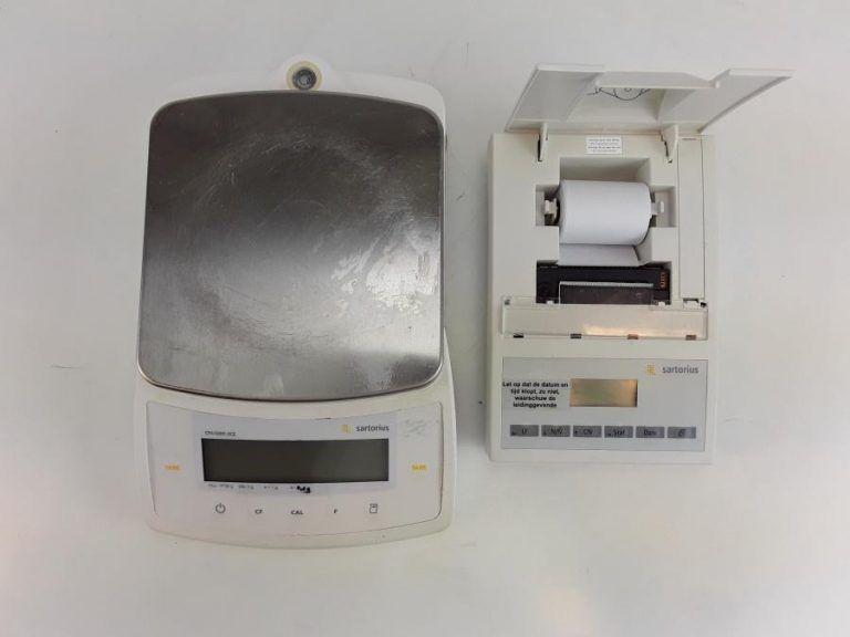 Sartorius CPA10001-0CE Analytical scale w/ Printer