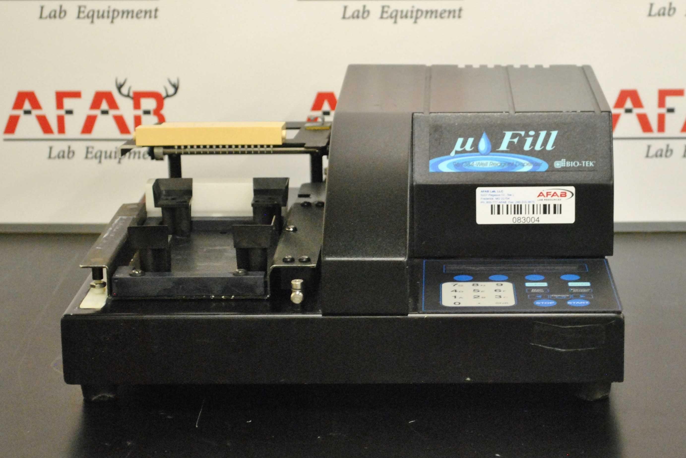 Bio-Tek Fill Autoclavable Microplate Reagent Dispenser AF1000A