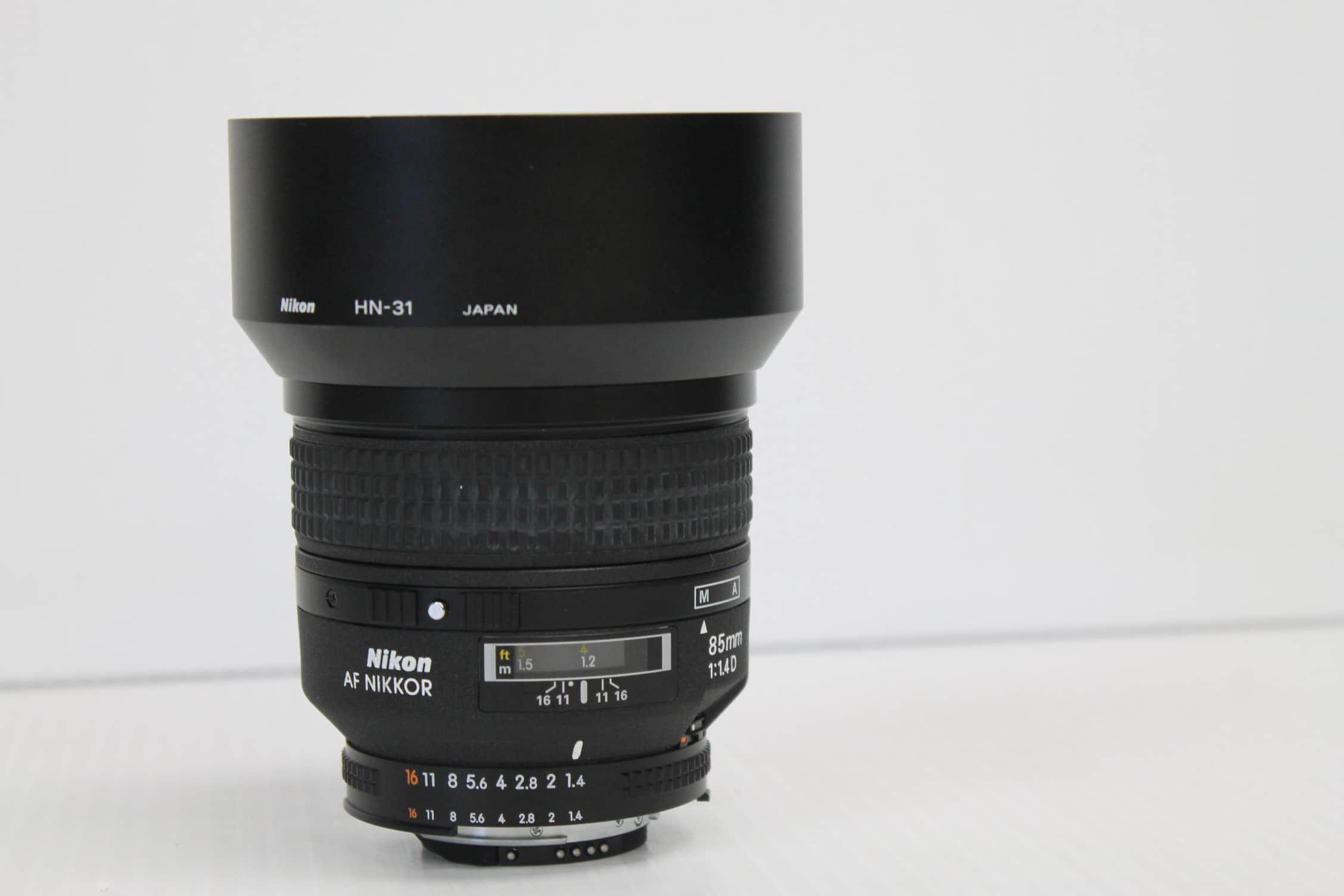 Nikon AF Nikkor 85mm 1:1.4 D Lens