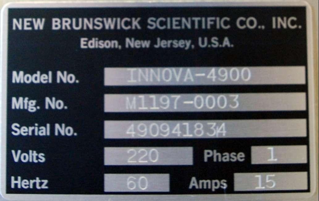 New Brunswick Scientific Multi-tier Environmental Shaker INNOVA 4900