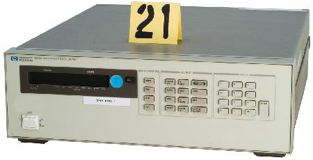 HP 6625A Test and Electronics Precision System DC Power Supply.