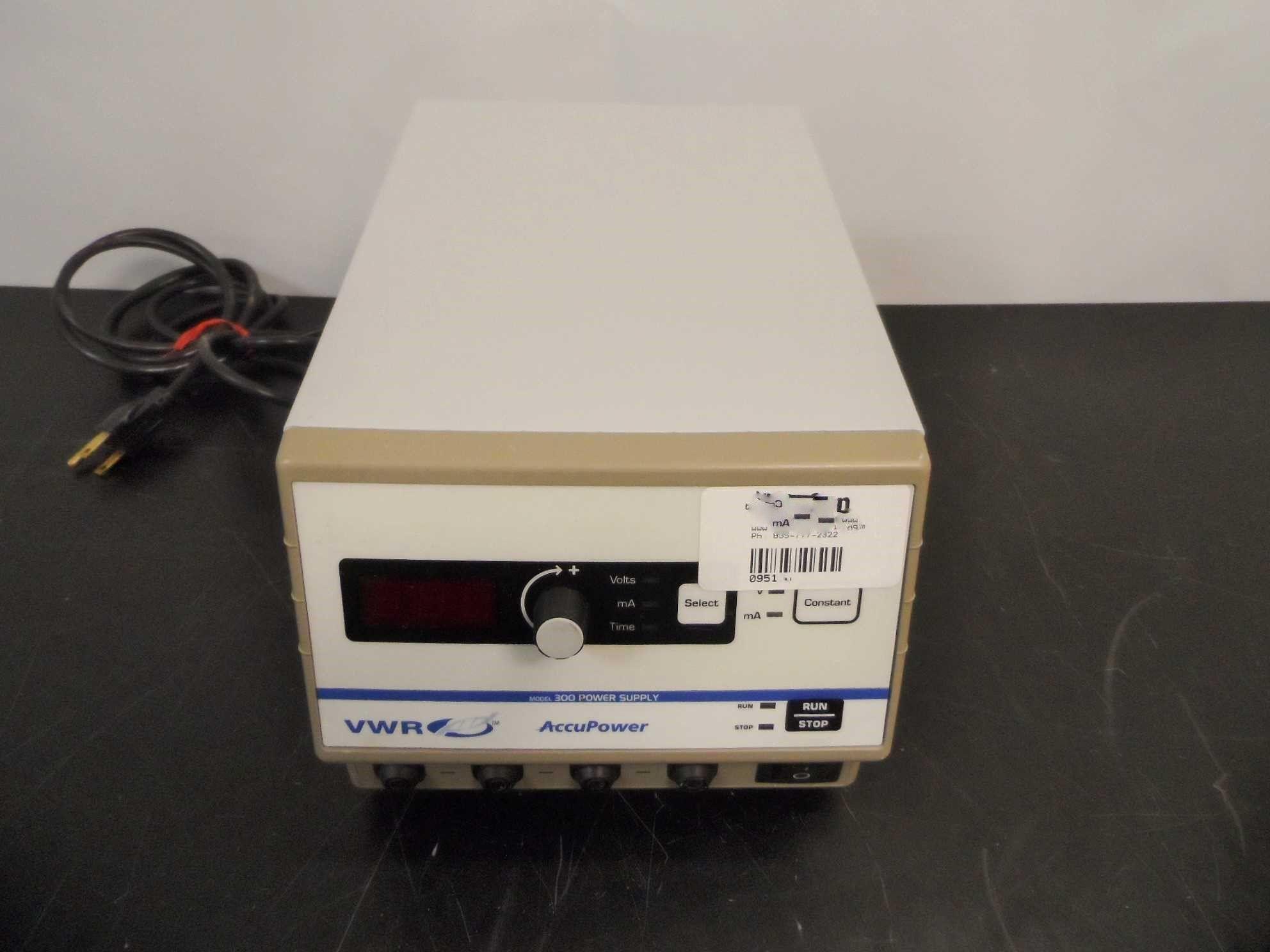 VWR AccuPower Power Supply 300