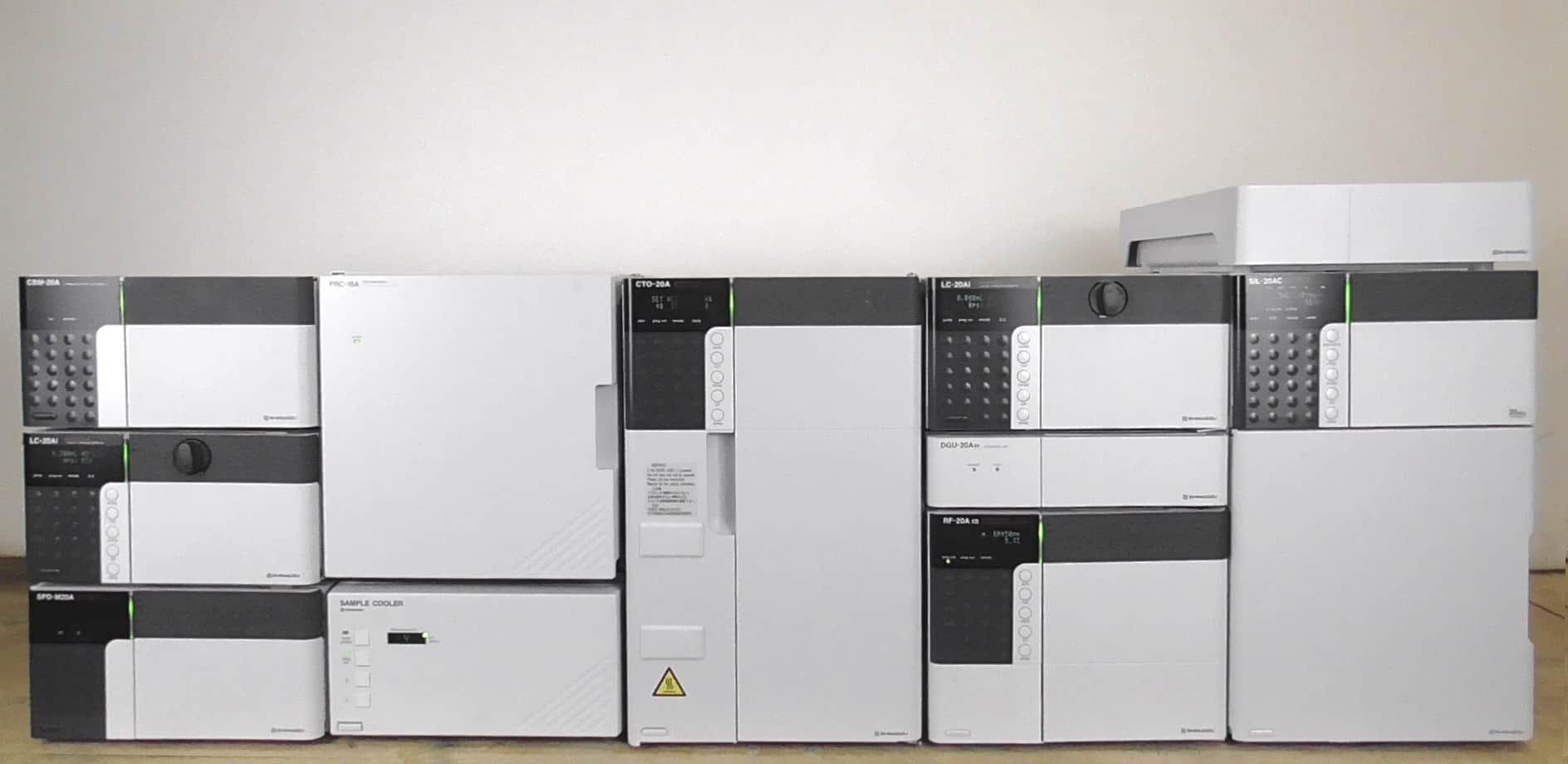 Shimadzu Prominence UFLC (Ultra Fast Liquid Chromatograph) System