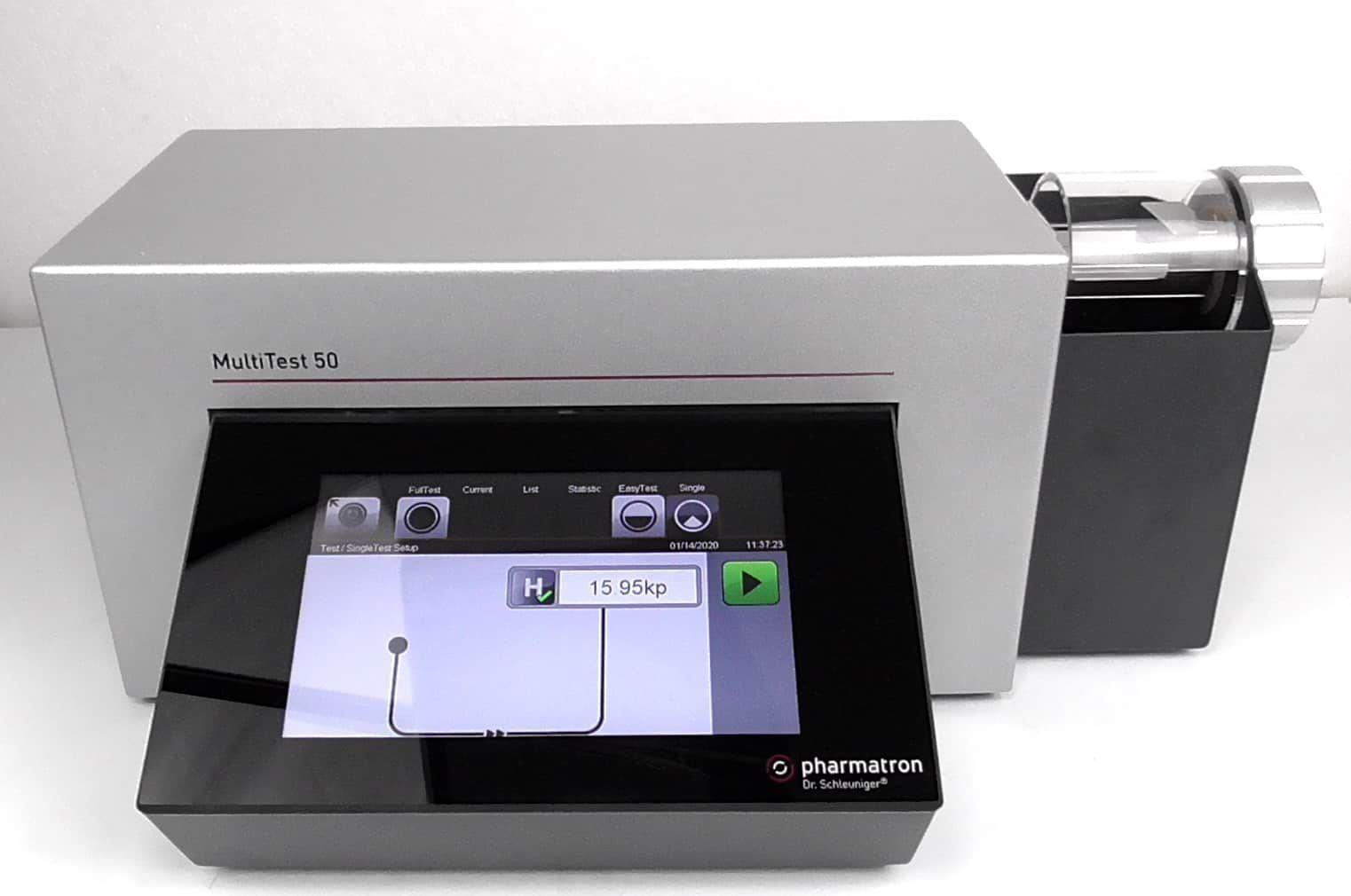 Sotax MT50 Multitest 50 Hardness Tester