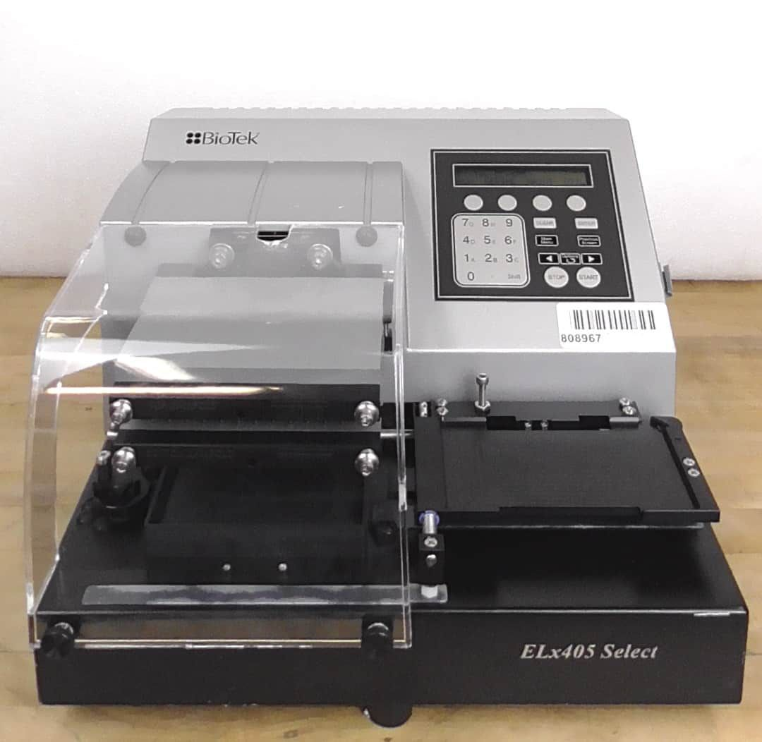 Bio-Tek ELx405UV Select Microplate Washer with Optional Accessories