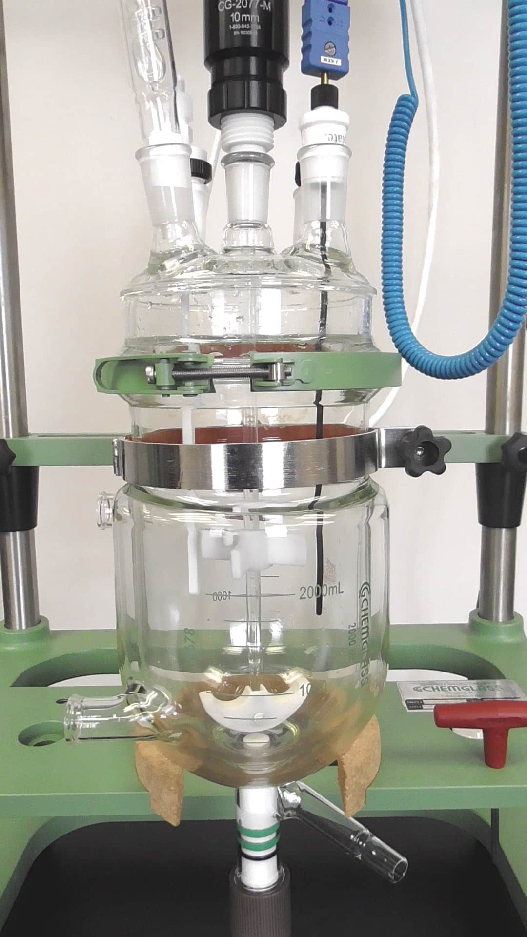 Chemglass 2 Liter Bioreactor