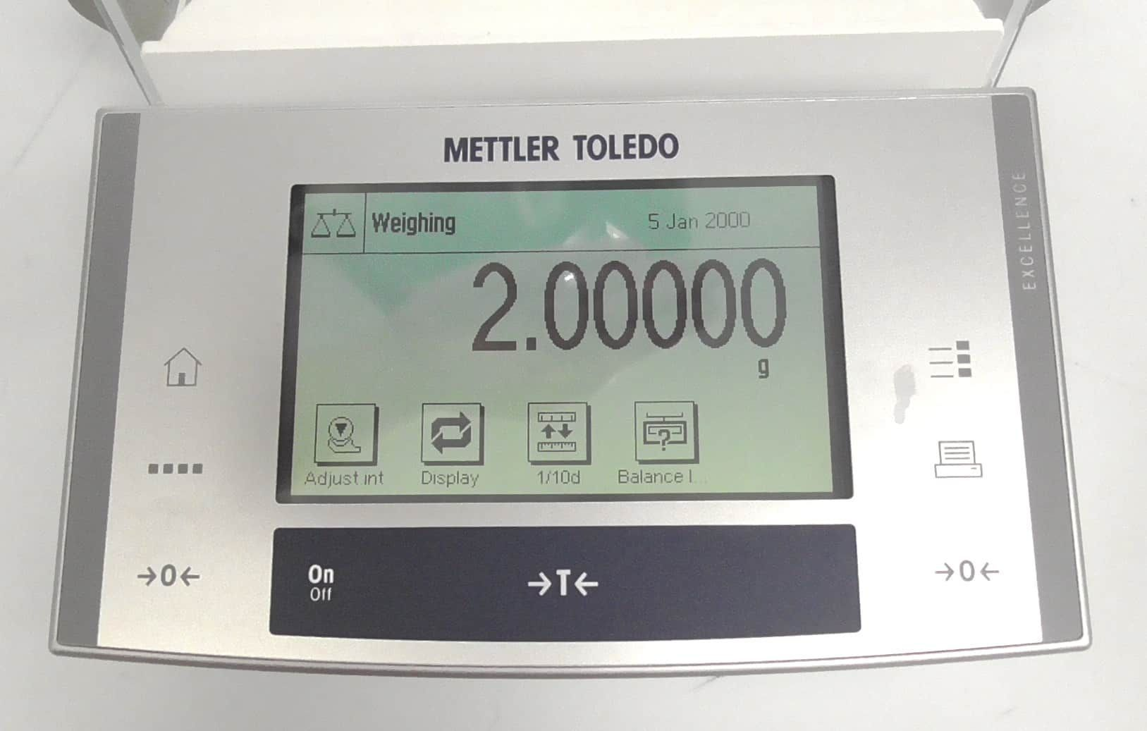 Fully Refurbished Mettler Toledo XS205DU Balance