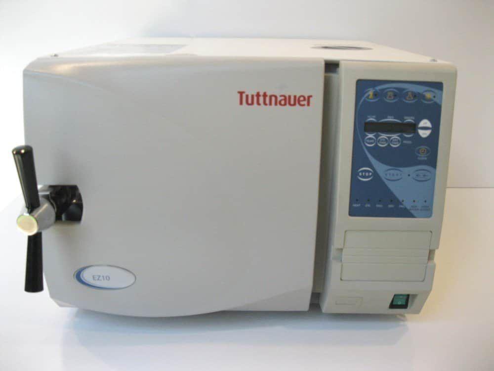 EZ10 Tuttnauer Refurbished Autoclave - Boothmed