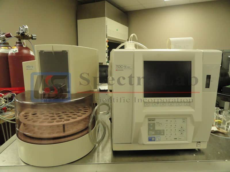 Shimadzu TOC-V CSH Total Organic Carbon Analyzer with Shimadzu ASI-V