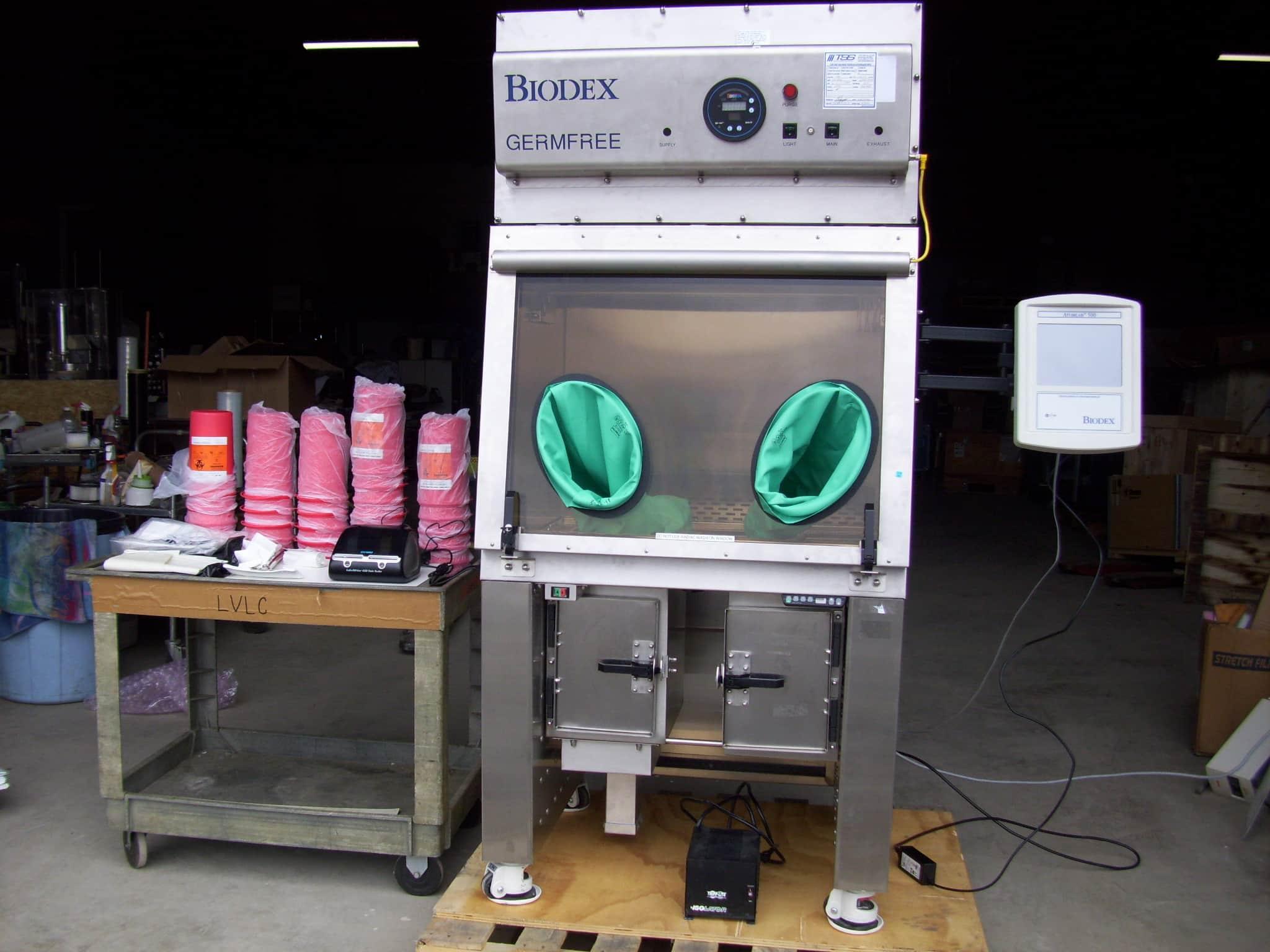 Biodex Germfree LFGI-3RUSP  Portable Shielded Isolator Laminar Flow Nuclear Medicine Atomlab 500 Dose Calibrator