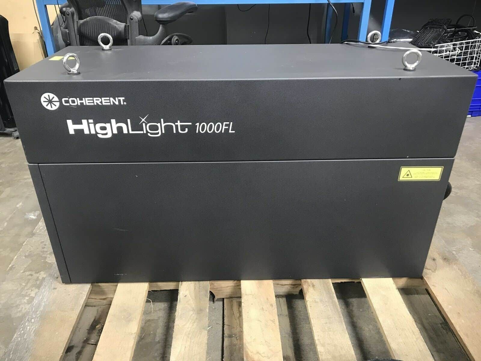 Coherent HighLight 1000FL Fiber Laser Welder/Cutter With Precitec LightCutter Head