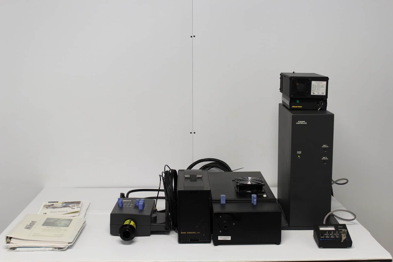 Nikon PCM2000 Confocal Laser w/ Melles, Spectra Physics, Zygo and Roper Supplies