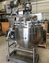 100 Gallon Vacuum Kettle  Sweep Scraper / Homogenizer