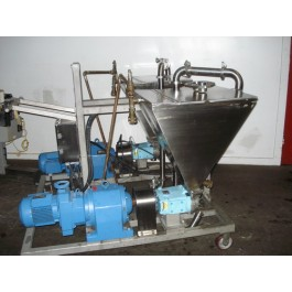 Hohberger/Waukesha Jacketed Portable Product Feed & Pumping System