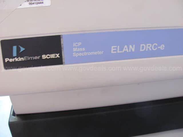 Perkins Elmer ICP Mass Spectrometer