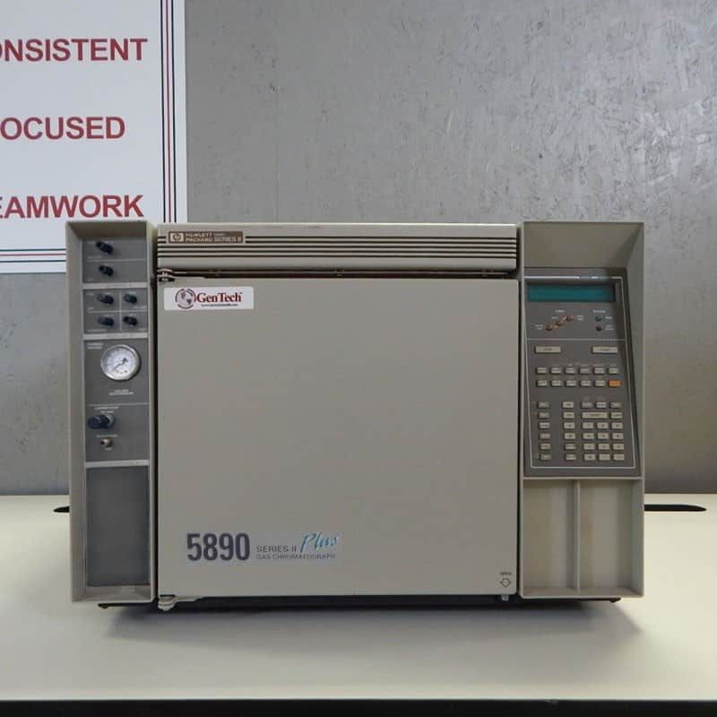 HP 5890 Series II PLUS GC with FID and TCD