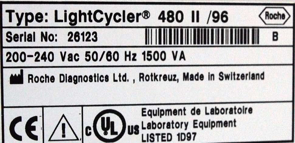 Roche LightCycler 480 II /96
