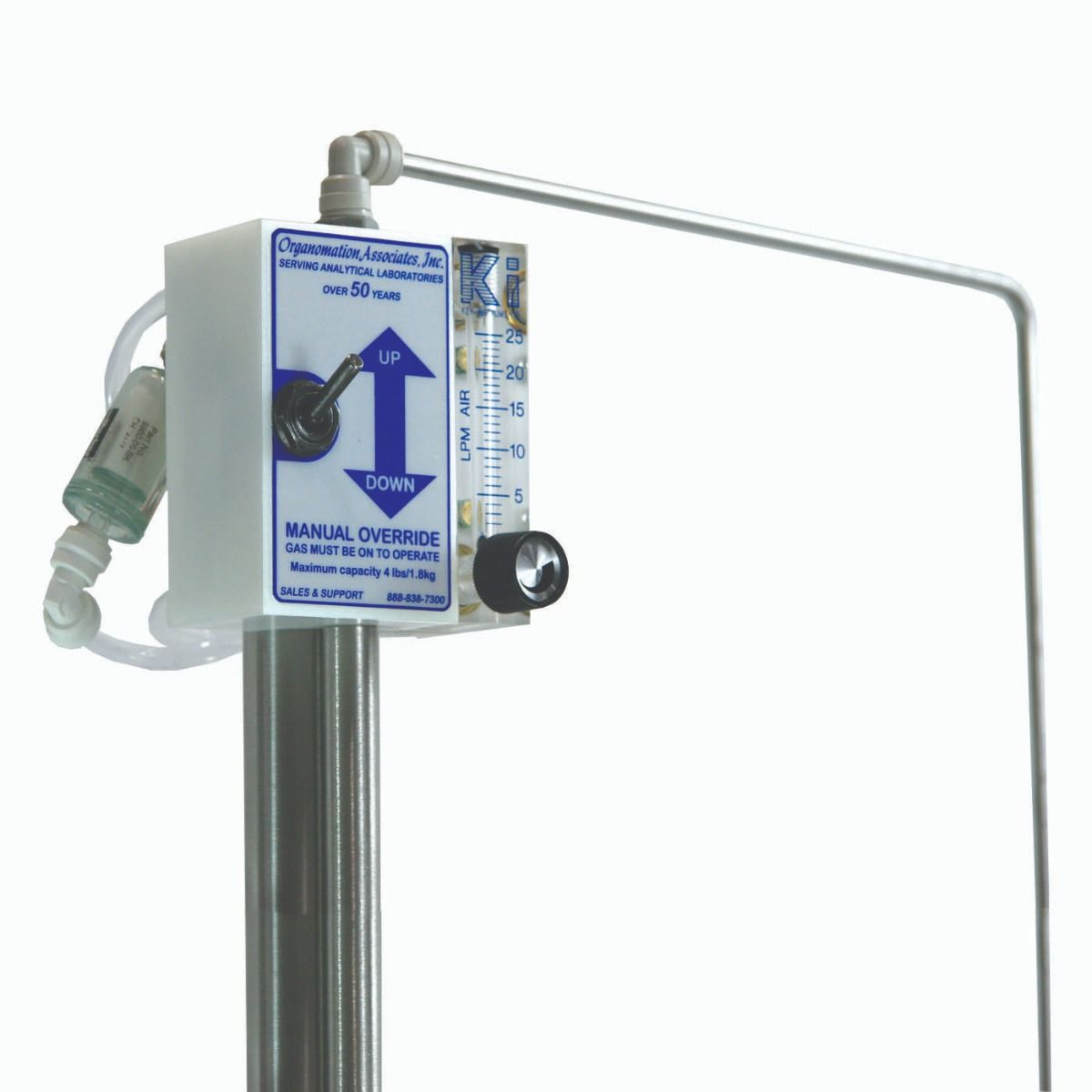 Organomation Automatic 20 Position N-EVAP® Nitrogen Evaporator