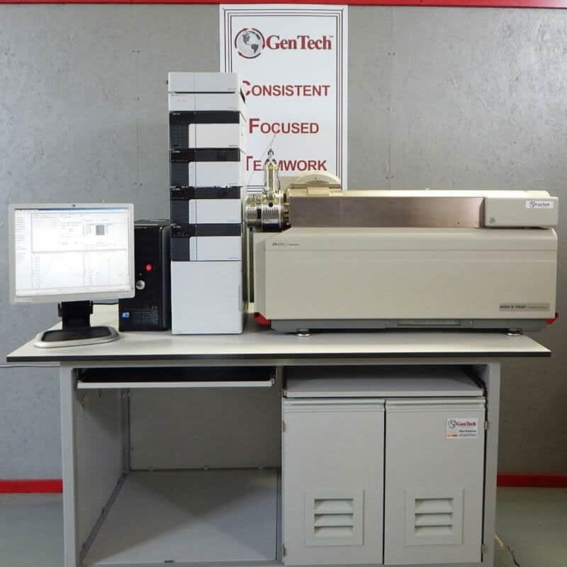 AB Sciex 4000 QTRAP w/ Shimadzu HPLC