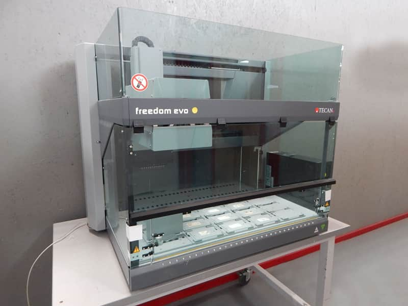 Tecan Freedom Evo-2 100 Liquid Handling System with MultiChannel Arm