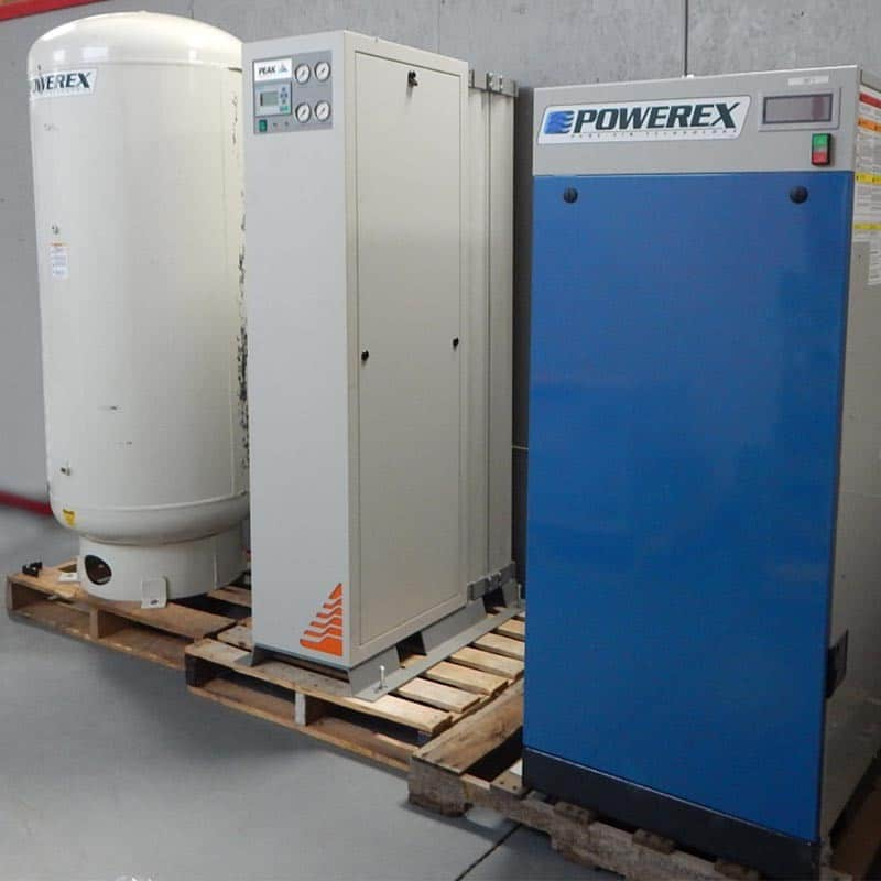 Powerex Air Compressor with Receiving Tank & Peak Nitrogen Generator - Special Discount