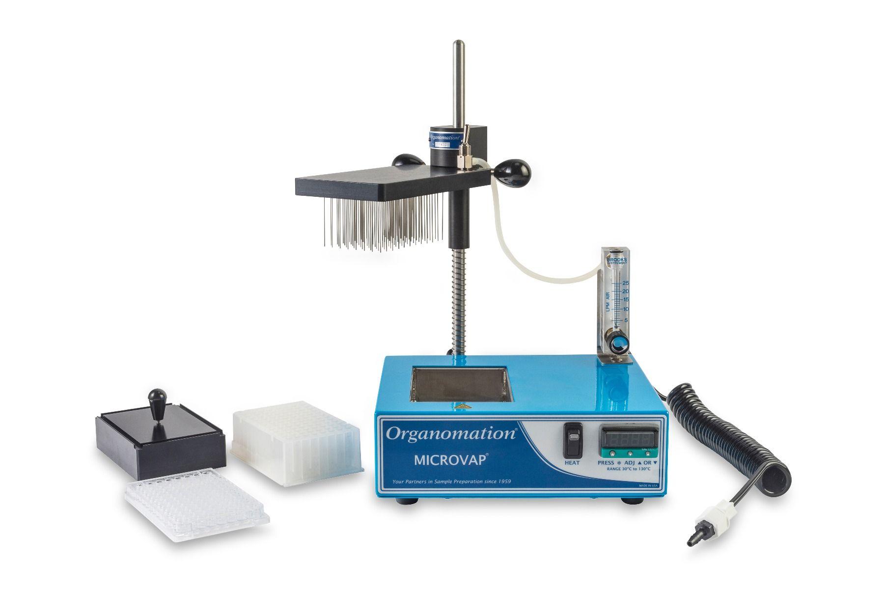 Organomation Single Plate MICROVAP® nitrogen evaporator