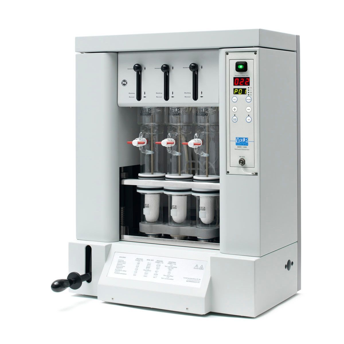 VELP Scientifica - SER 148 Series Semi-Automatic Solvent Extractor
