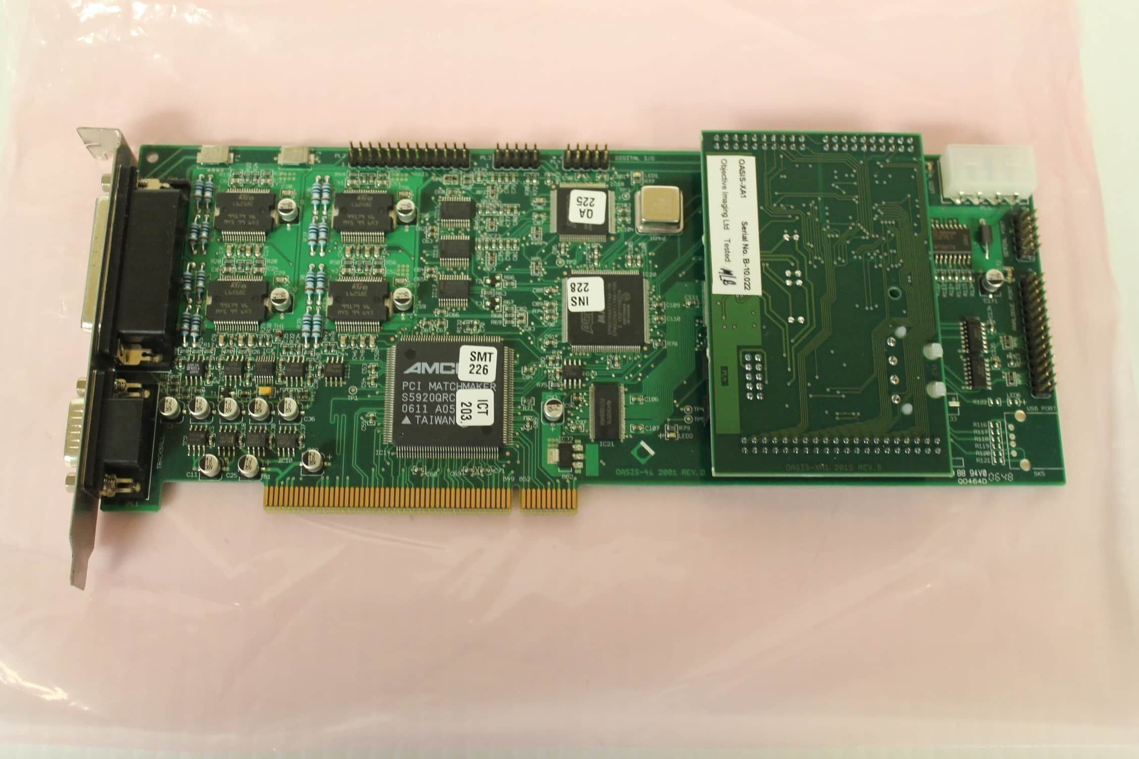 Objective Imaging OASIS-4i Four Axis Controller w/ OASIS-XA1 Extra Module