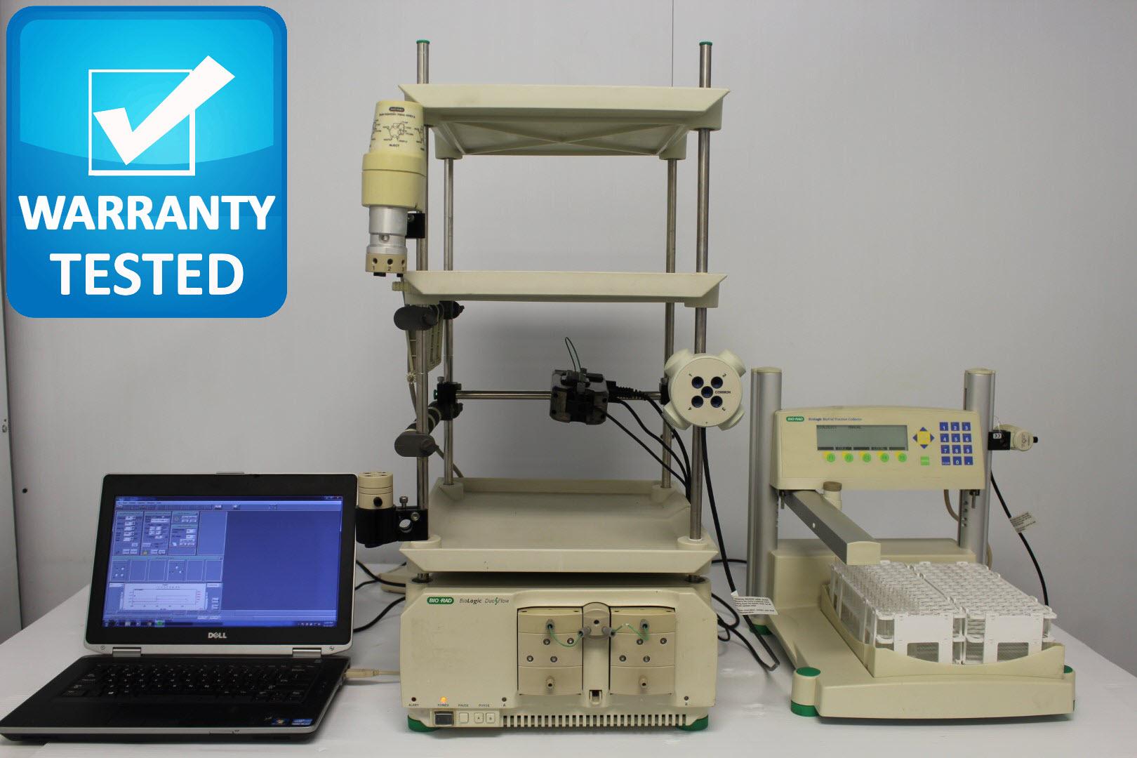 Bio-Rad DuoFlow Chromatography System w/ BioFrac