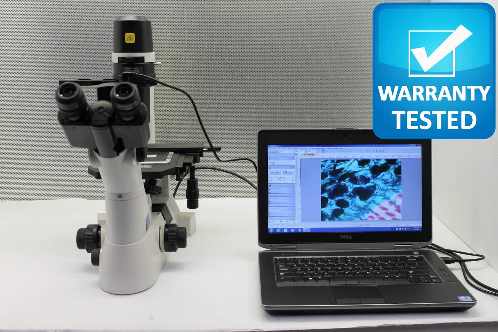 Nikon TS100 Inverted Phase Contrast Microscope