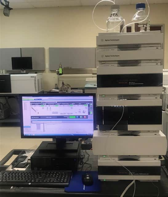 Agilent 1260 HPLC System with DAD,  12-Month Warranty
