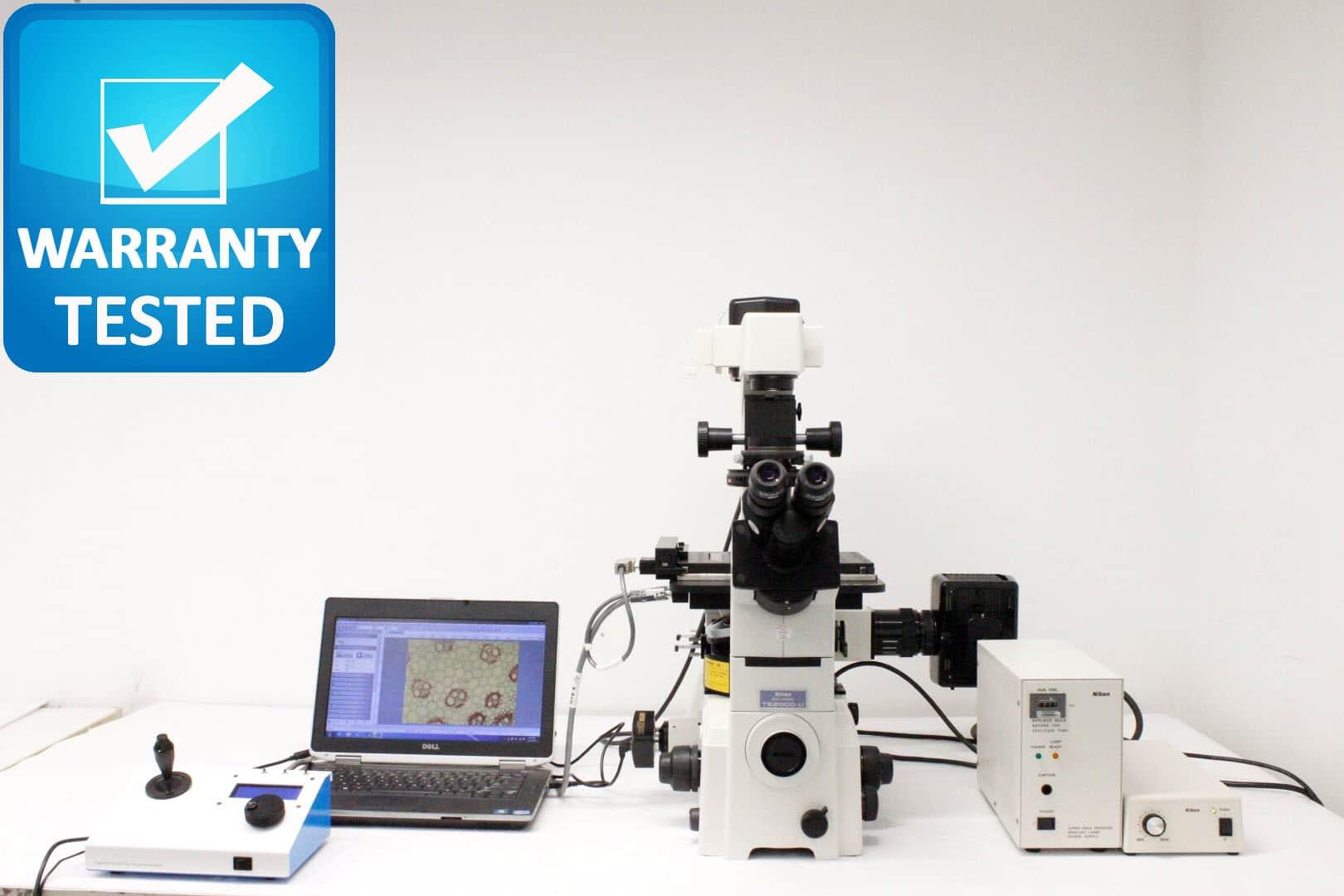 Nikon TE2000-U Inverted Microscope