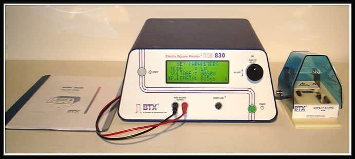 BTX Cell Porator Electroporation System ECM  830 w WARRANTY