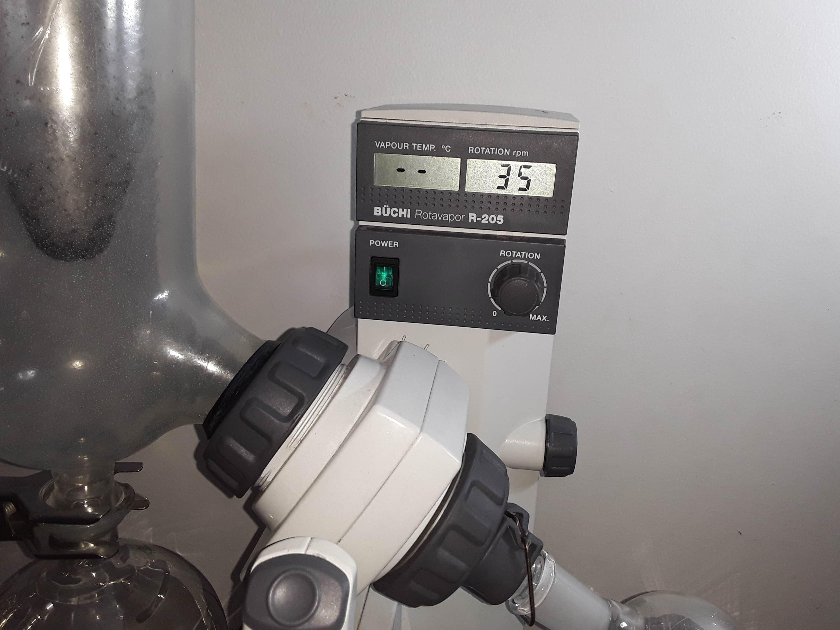 DIGITAL BUCHI ROTAVAPOR R-205 SYSTEM