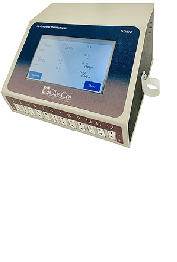 12 channel data logging thermometer
