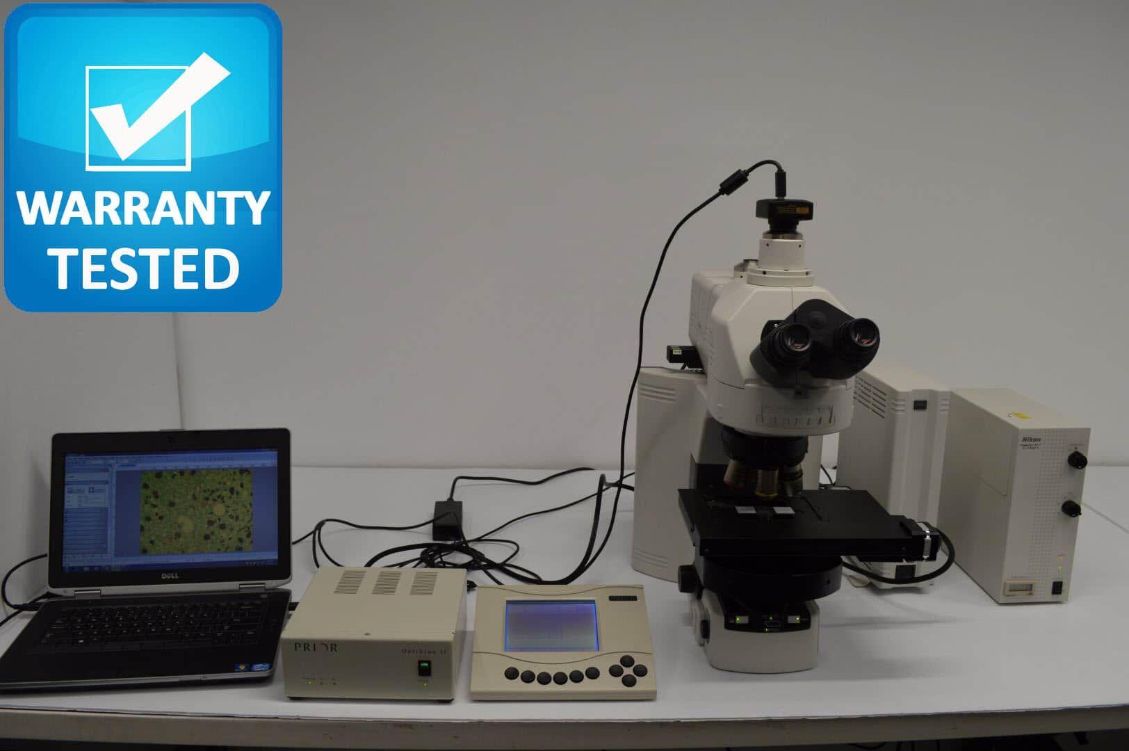 Nikon 90i Motorized Fluorescence Microscope Pred. Ni-E