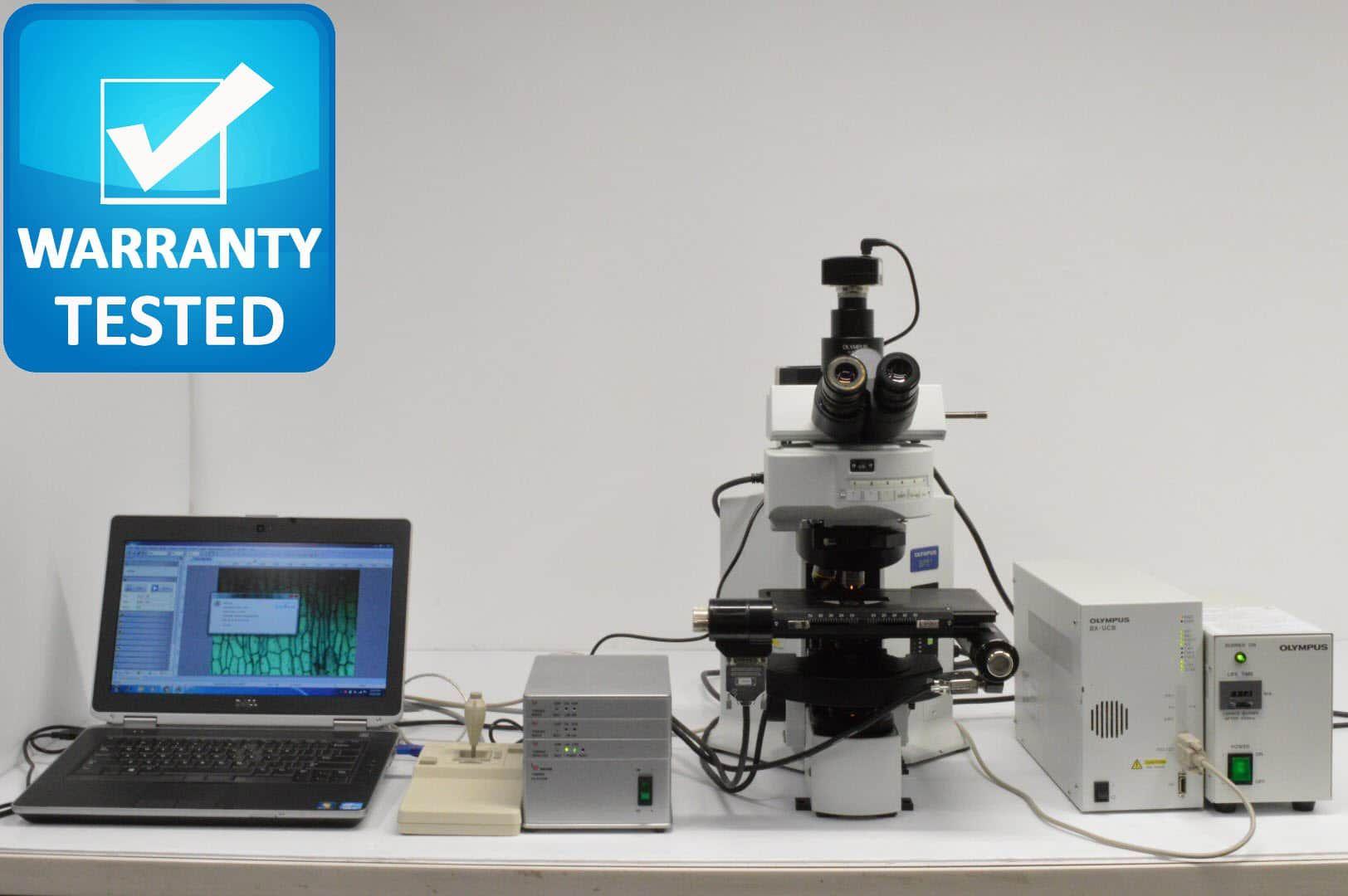 Olympus BX61 Microscope Fluorescence Motorized Unit5