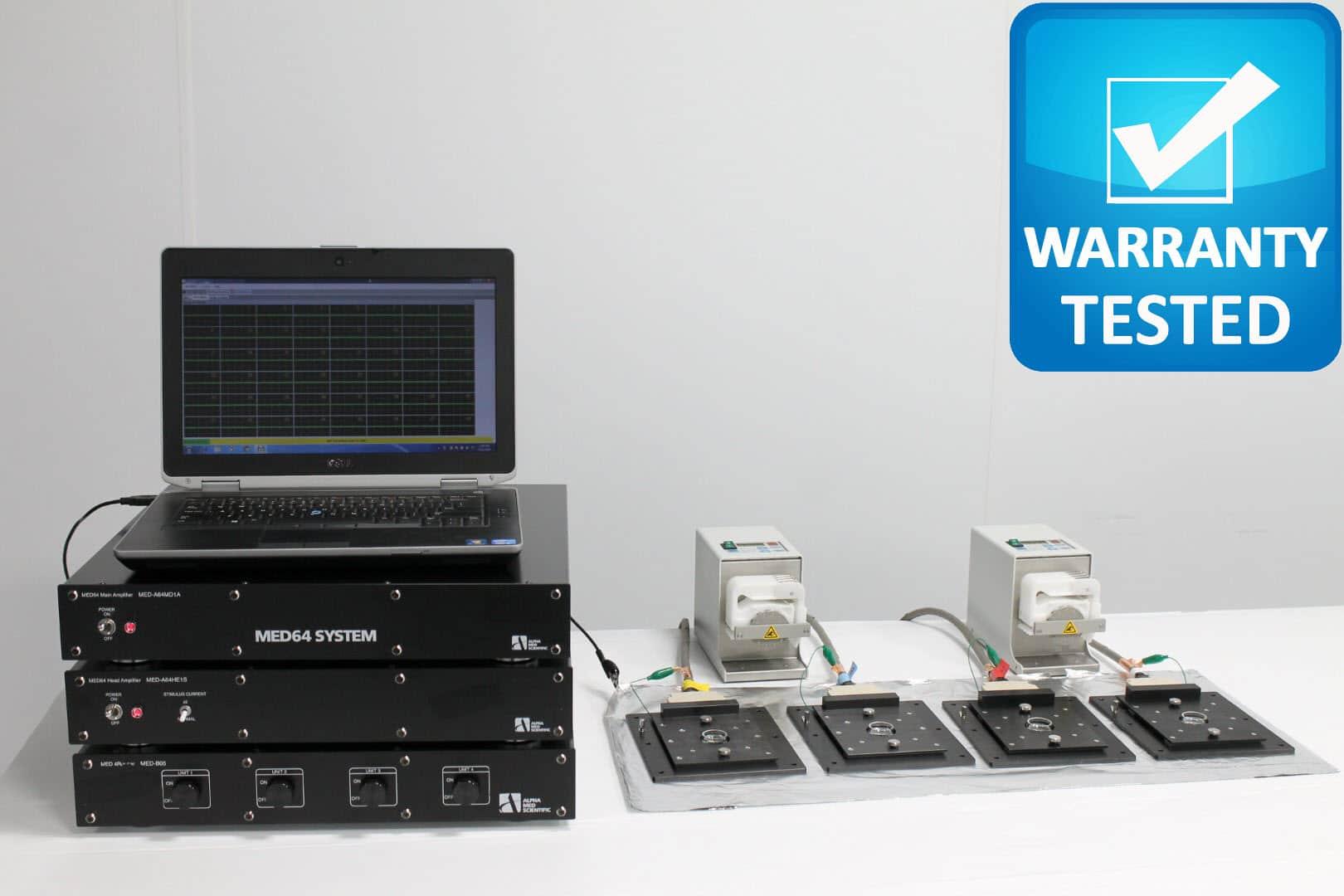 MED64-Plex 4 MEA Microelectrode Array System MED 64 Unit2