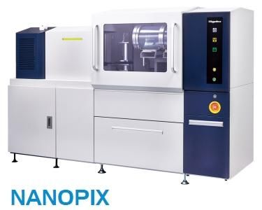 Rigaku NANOPIX Small angle and wide angle X-ray scattering instrument