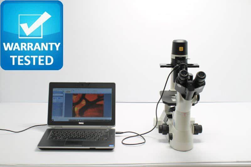Nikon TS100 Inverted Phase Contrast Microscope Unit2