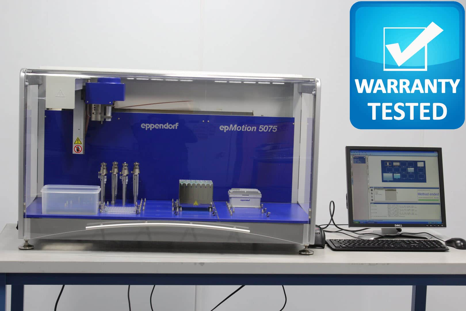 Eppendorf epMotion 5075 Liquid Handler w/ Sample Tracking, GxP