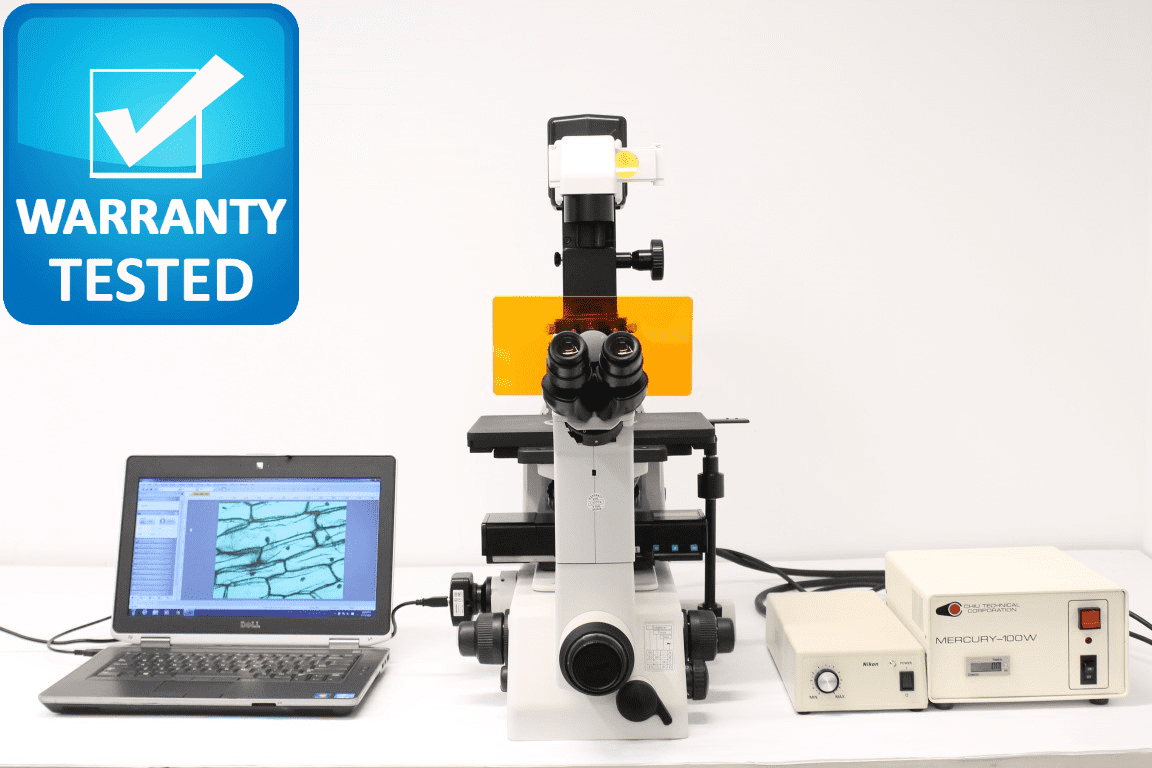 Nikon Eclipse Fluorescence TE300 Inverted Microscope System