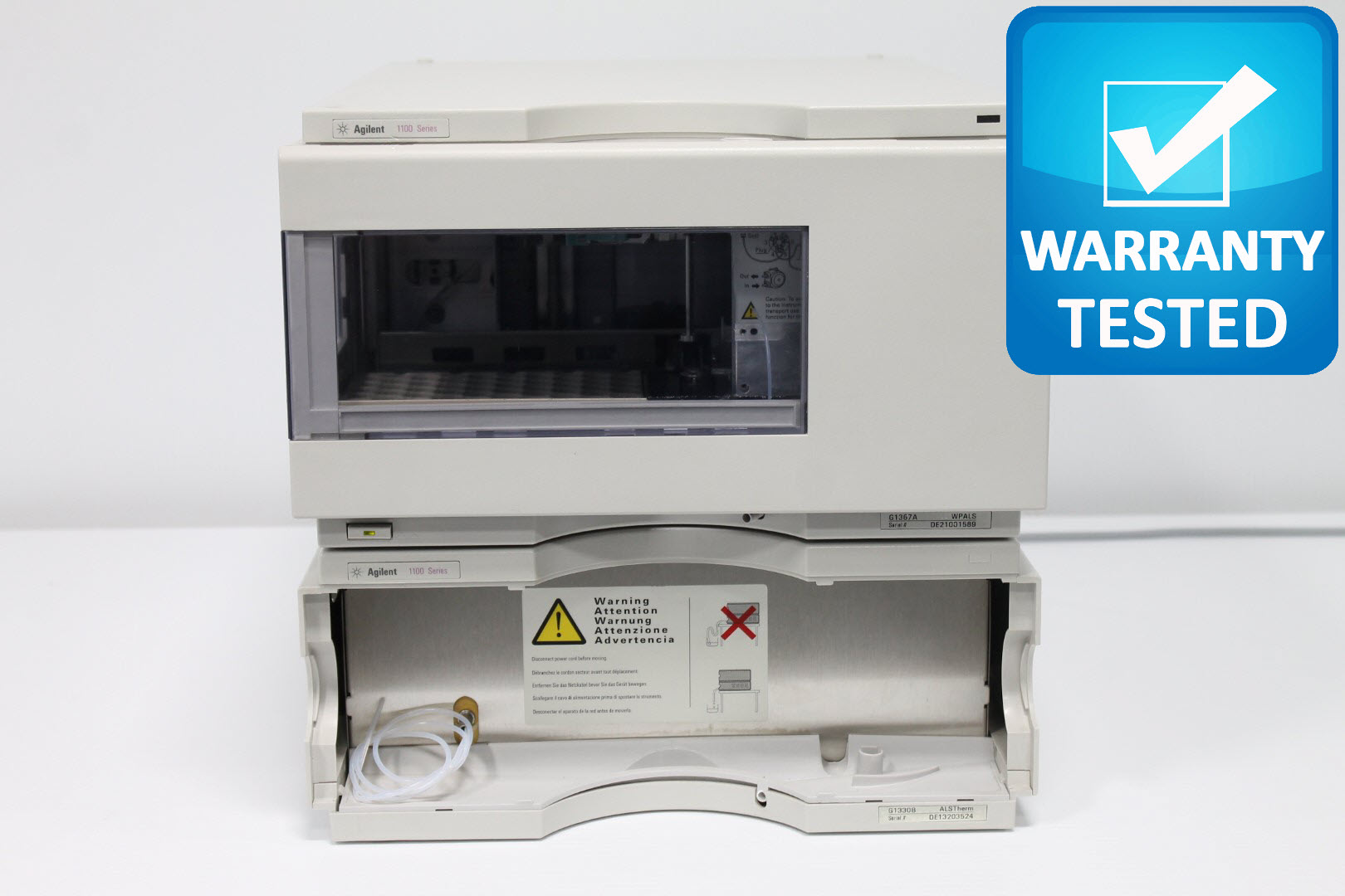 Agilent G1367A Well-Plate Autosampler w/ G1330B Thermostat HPLC