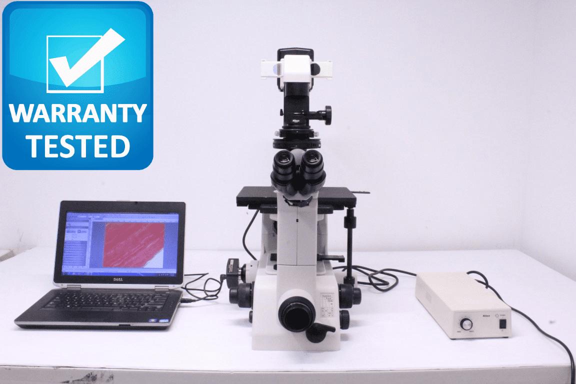 Nikon TE300 Inverted DIC Microscope